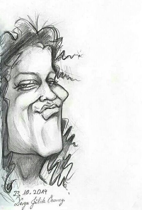 Caricature by DeryaJuelide
