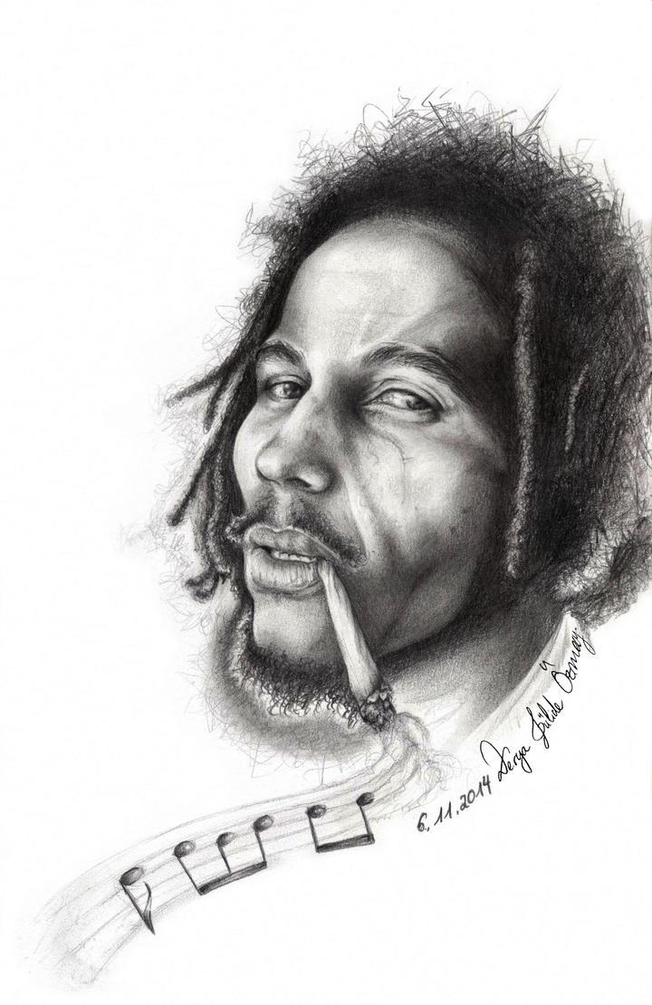 Bob Marley by DeryaJuelide