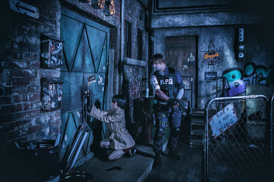 Resident Evil 2 remake cosplay part3 by mayuyu0405