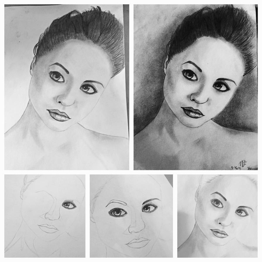 Girl progression by Senasame