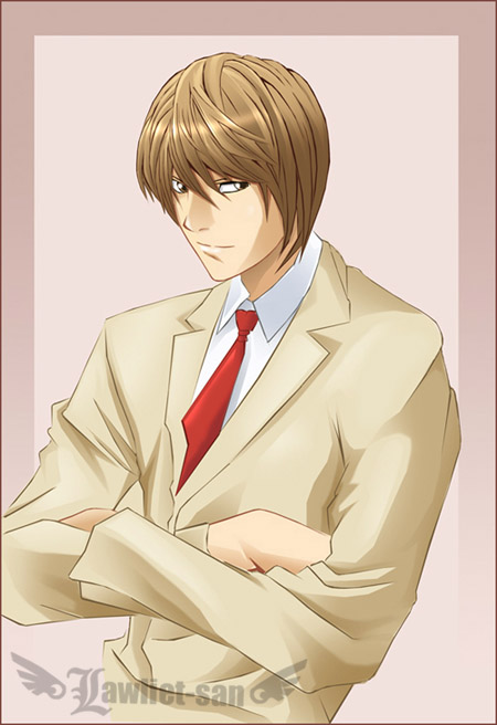 Light Yagami by Lawliet-san