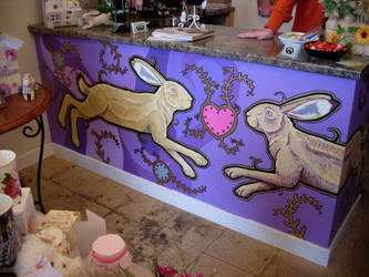 March Hares Mural - image 1 by urbanimal