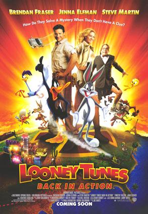 Movie poster looney tunes back in action by Candicelovessonicfor