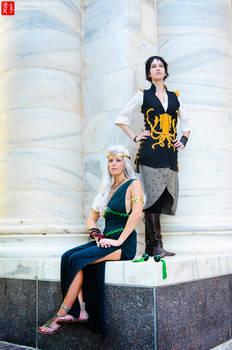Daenerys and Asha Cosplay