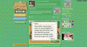 Animal Crossing Tumblr Theme