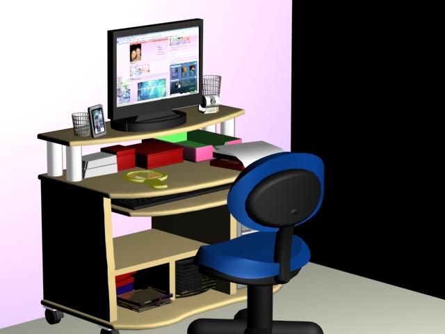 My Desk by silverz777