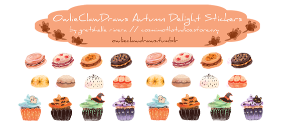 Autumn Delight Stickers