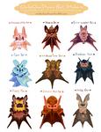 Halloween 2014 Bat Stickers