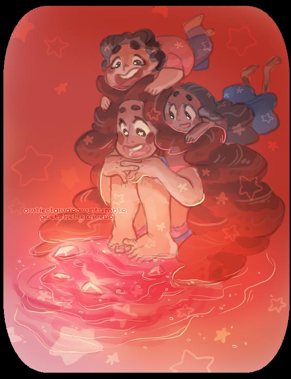 Steven Universe: Stevonnie by nikiera
