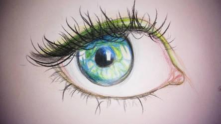 Green Eye by iilLuminair