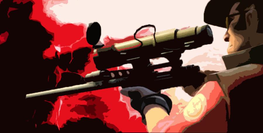 Team Fortress 2 THE SNIPER by AliceMiyukiLovers on DeviantArt