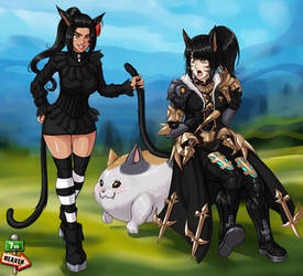 Commi - 1070 - Cats by 7th--Heaven