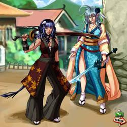 Commi - 1107 -  Velvet and Saya by 7th--Heaven