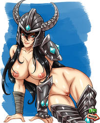 Commi - 1239 - Tryndamere by 7th--Heaven