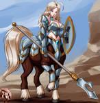 Patreon - Commi - 1964 - Centaur Warrior