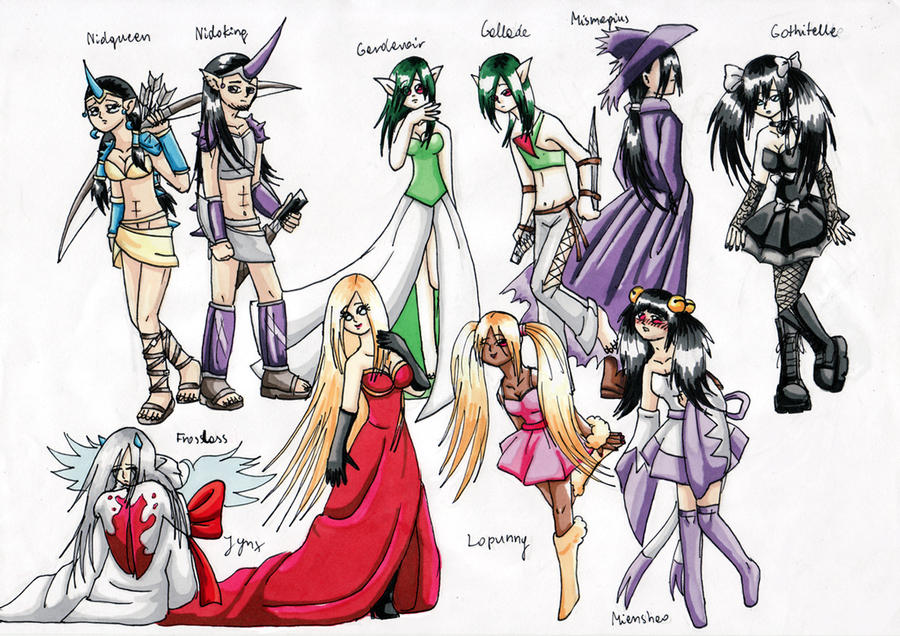 Human Pokemon by Edo--sama on DeviantArt