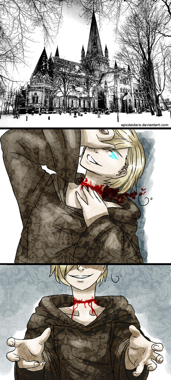 [APH] The Bloody Monk by Edo--sama