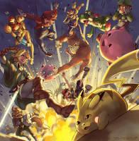 Super Smash Bros 64 by Edo--sama