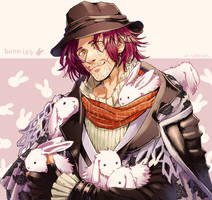 Ardyn and Bunnies [FF15] by Edo--sama