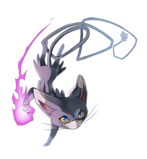Glameow used Sucker Punch!