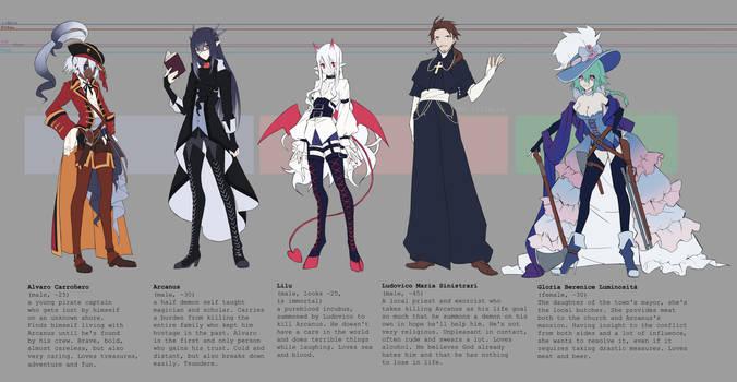 Original Characters designs 1