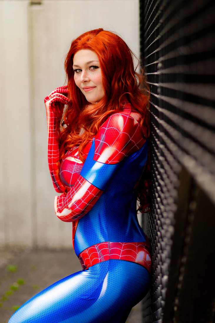 Spidersuit Mary Jane Watson by AdiaCosplay