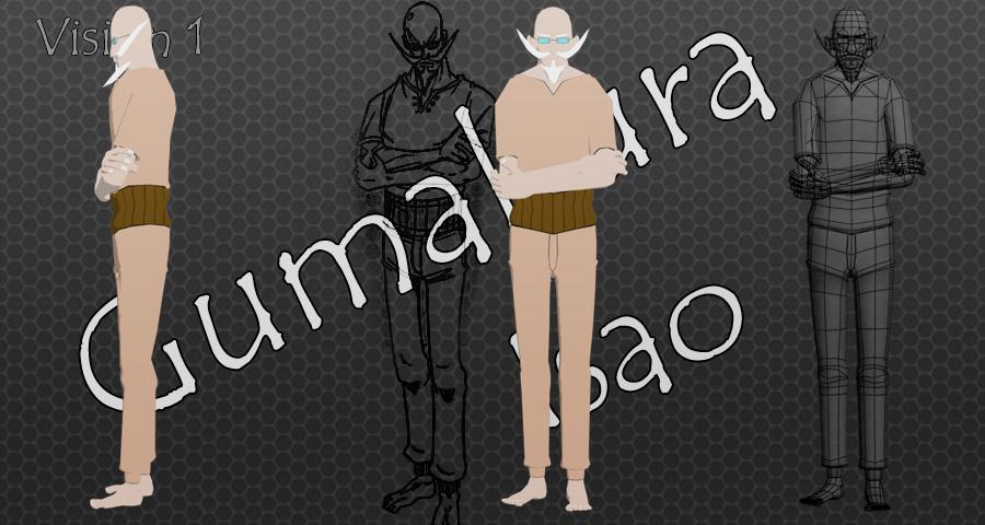 Gumakura Isao by KayCornea