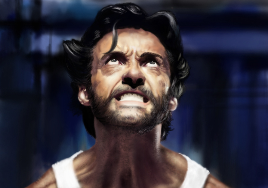 Digital Paint Wolverine by aabesthegreat