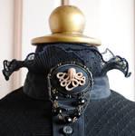 The Octopus Steampunk Brooch