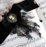 Black Velvet Gothic Choker