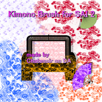 Kimono brush for SAI 2 by chatenoir