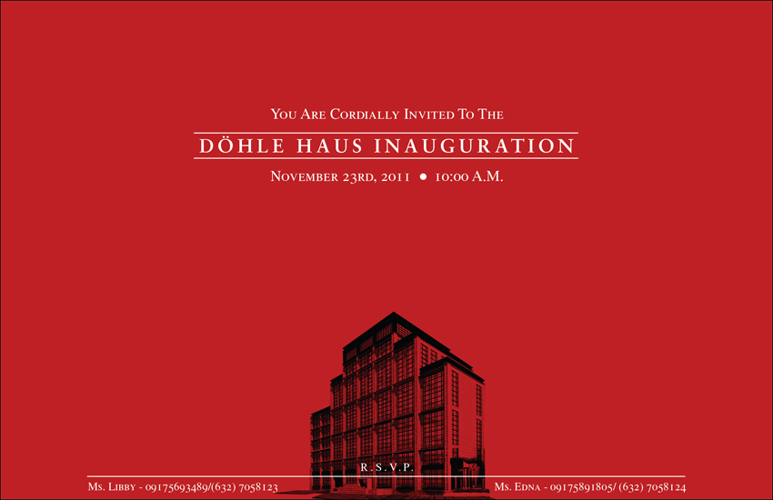 Dohle Invitation Front by Click-Art