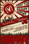 Chanel [V] Ph Red Revolution Poster AD