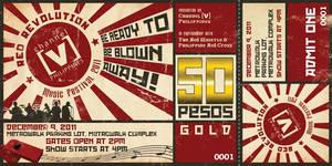 Chanel [V] Ph Red Revolution Event Ticket