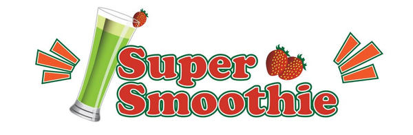 Super Smootie App Logo Design