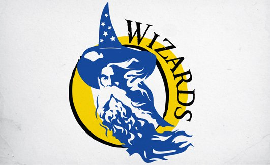 Wizards Team Logo Design by Click-Art