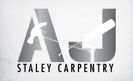 AJ Staley Carpentry Logo Design by Click-Art