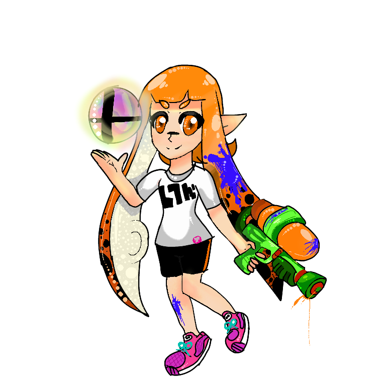 Welcome to smash bros,inklings! by supersailorwind