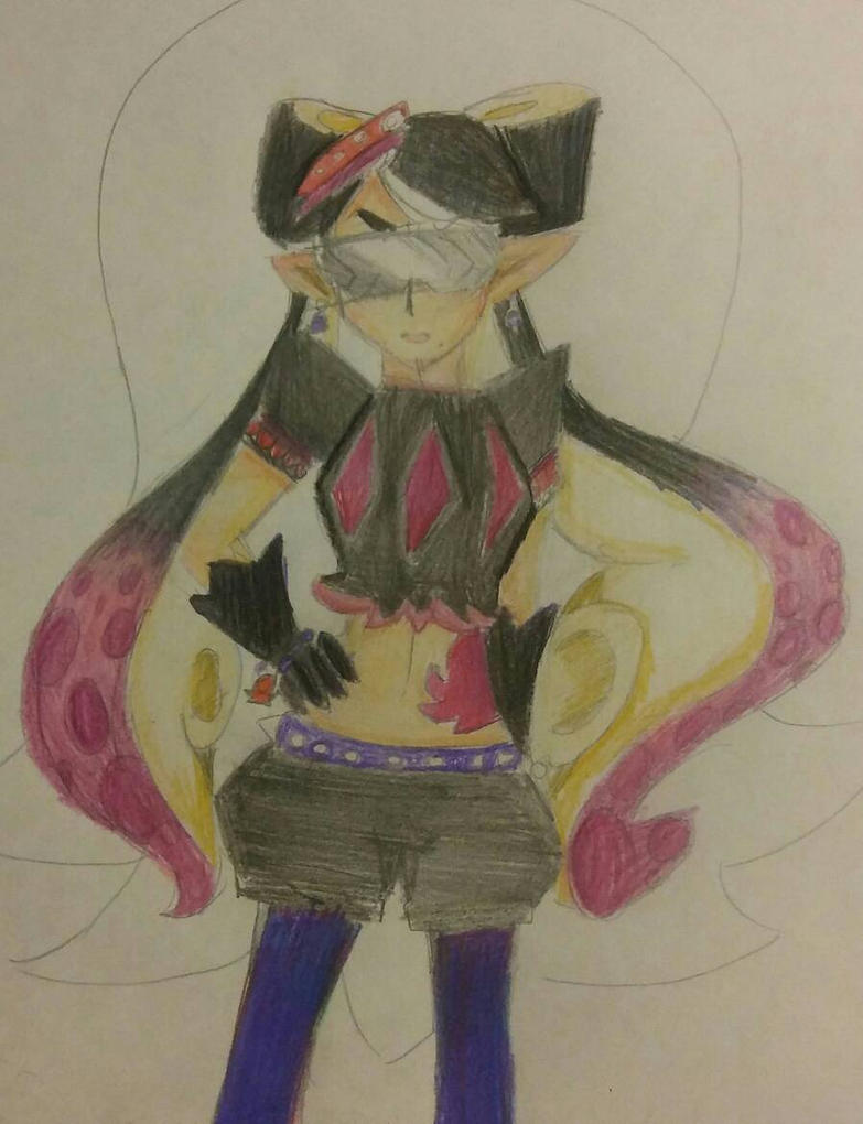 Evil Callie by supersailorwind
