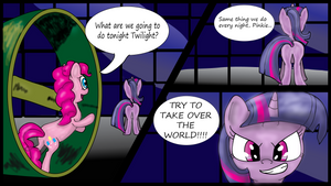 NATG Day 18 - Pinkie and the Twilight