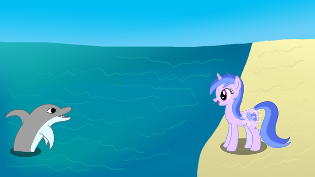 Dolphin Pony? NATG Day 24