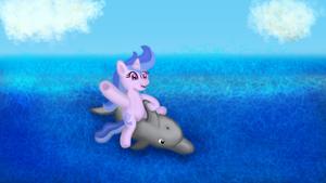 Dolphin Pony! - NATG Day 25