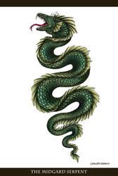 The Midgard Serpent (Tattoo Commission)