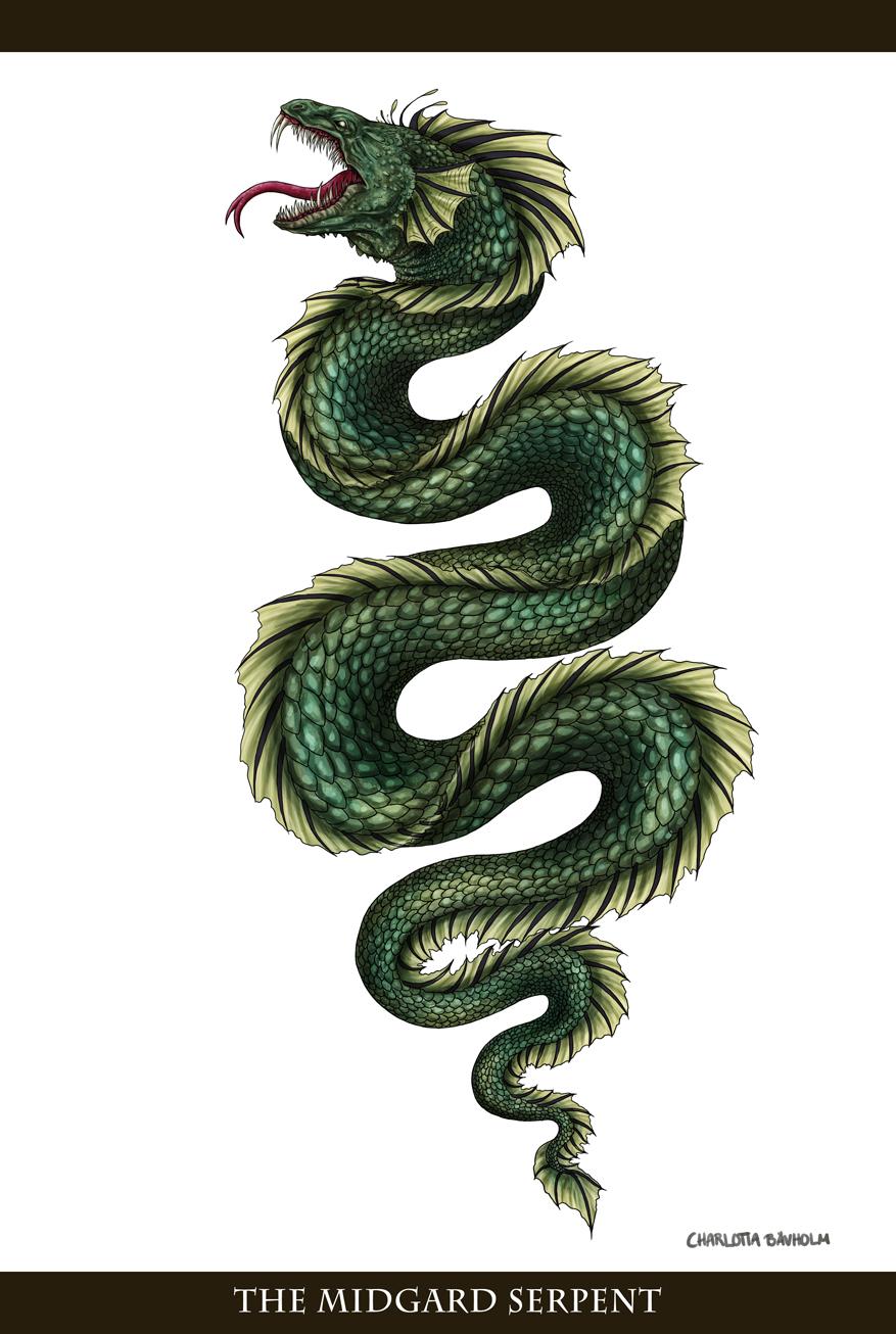 Midgard Serpent Tattoo | www.imgkid.com - The Image Kid ...