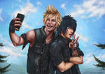 Final Fantasy XV: Say Gil! by CharlottaBavholm