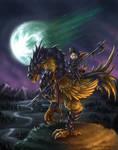 Final Fantasy VII: Dragoon Chocobo and Moogle