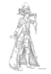 Nathaniel Outfit Sketch