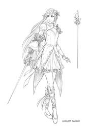 Fyona Outfit Sketch