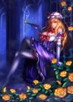 Purple Bab...(cough)Yukari-SAMA!