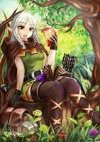 Elf's Afternoon Break by AmberClover